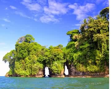 Bird Island a Bocas del Toro, Panama