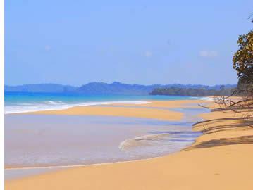 Bluff Beach a Bocas del Toro, Panama